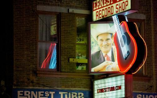 Legendary Ernest Tubb record shop