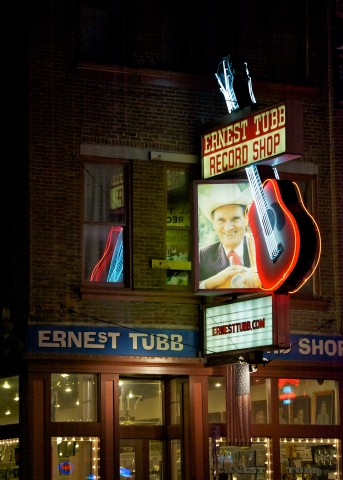 Ernest Tubb Record Shop, as seen on Walkin' Nashville Music City Legends Tour